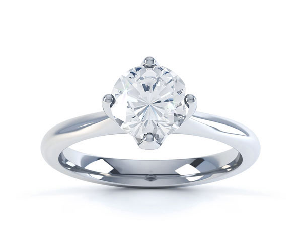 0.50ct Diamond Engagement Ring