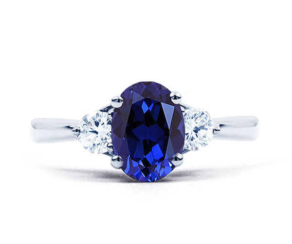 blue sapphire paragon ring