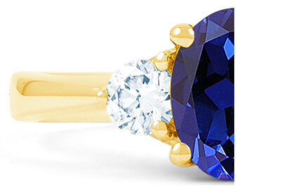 Blue Sapphire Rings category image