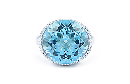 Blue Topaz Rings category image