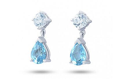 Blue Topaz Earrings category image