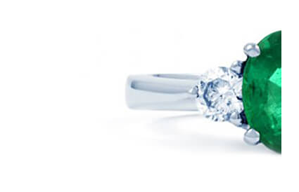 Emerald Engagement Rings category image