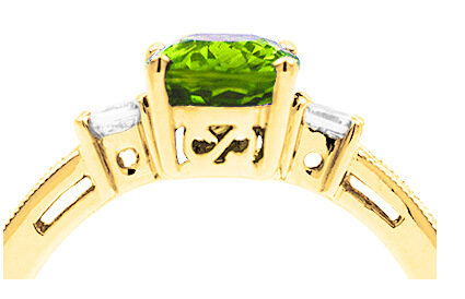 Peridot Rings category image