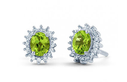 Peridot Earrings category image