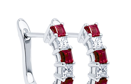 Ruby Earrings category image