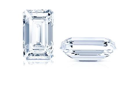 Emerald shape stone