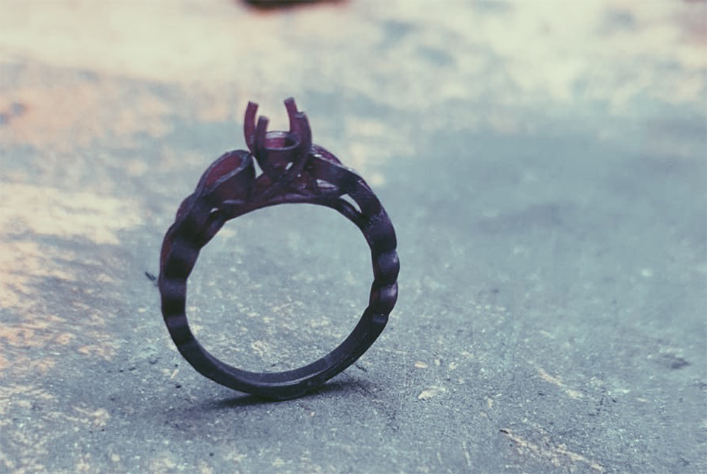 image of a wax ring
