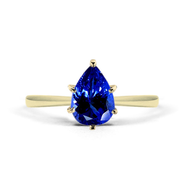 custom tanzanite ring