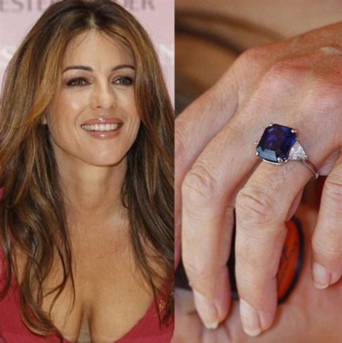 DiamondBoutique_BlogSapphire_ElizabethHurley