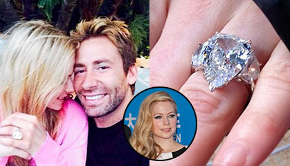 Avril Lavigne Reveals 1st Anniversary Gift From Husband | Diamond Boutique  Blog