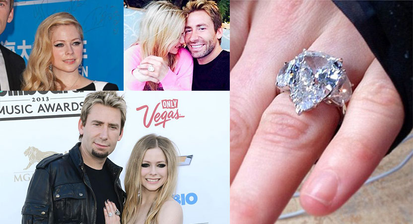 Avril Lavigne Reveals 1st Anniversary Gift From Husband Diamond