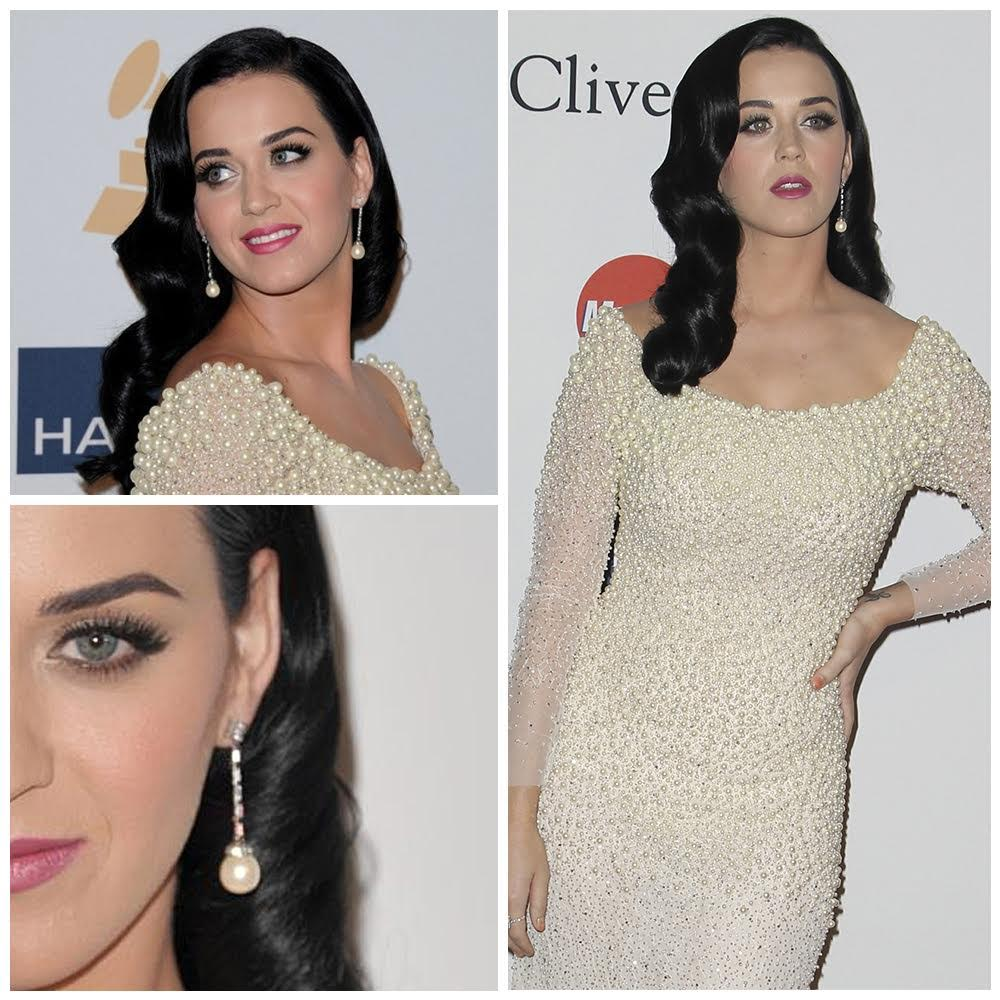 katy perry pearl dress