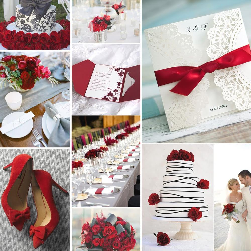 wedding red