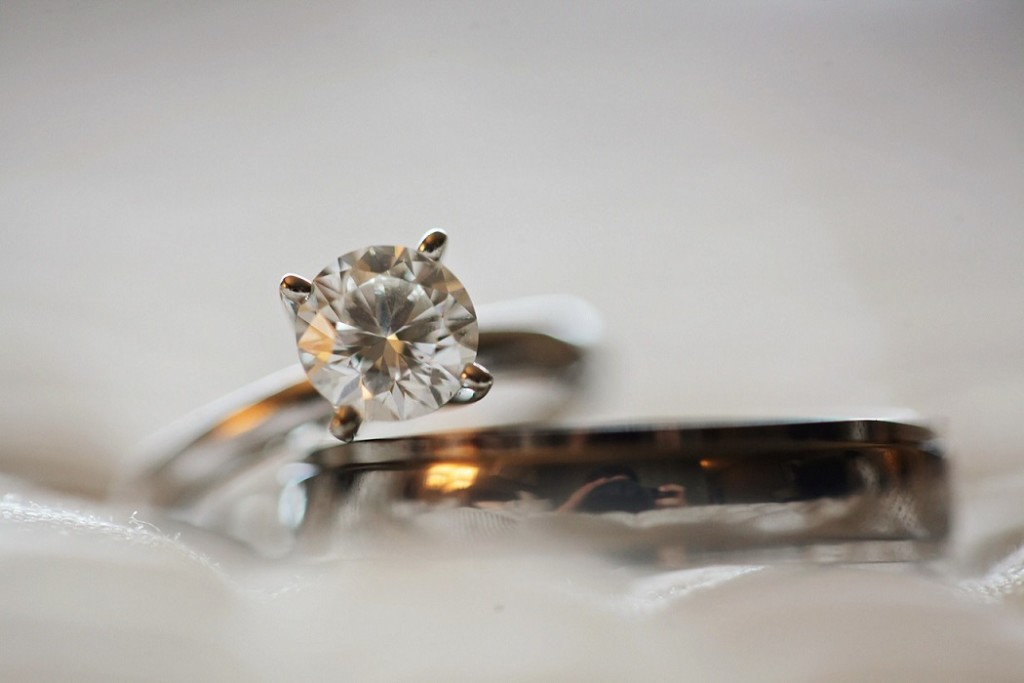 close-up-photo-of-diamond-stud-silver-colored-eternity-ring-691046