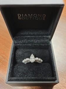 Unique Multi Diamond Ring