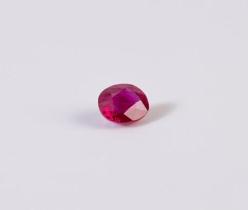 Single Ruby Gemstone