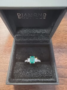 Bespoke Ring Blue Gemstone
