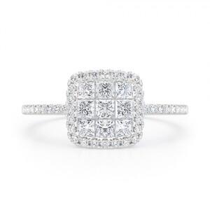 Mai Diamond Engagement Ring