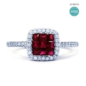 Mai Ruby And Diamond Ring