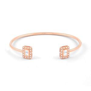Rose Gold Diamond Cuff